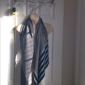 J. Jill Asymmetrical patchwork scarf